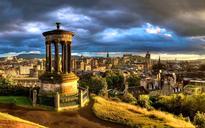 alton hill in edinburgh at Scotland