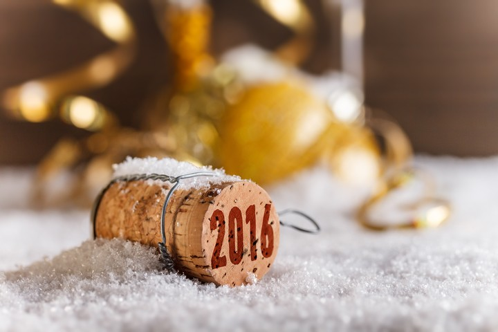 2016 Happy New Year Golden Hd