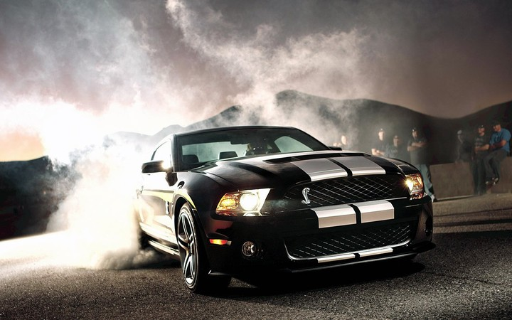 American Cars Ford Mustang Gt500