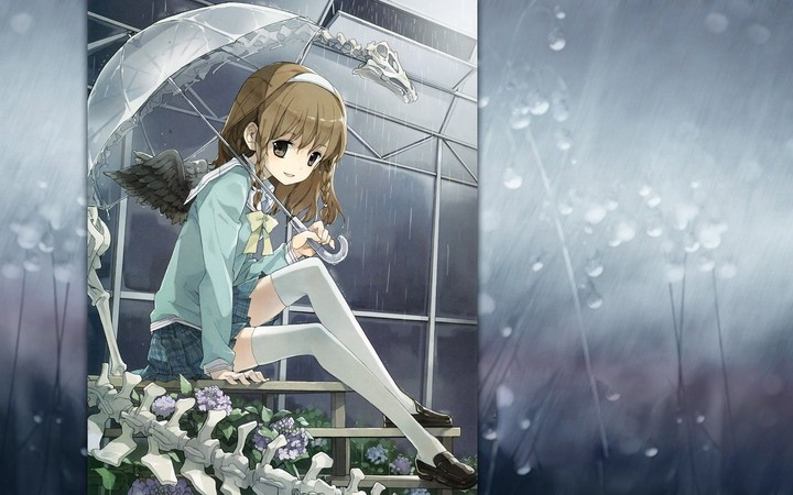 Angel Girl In The Rain Anime