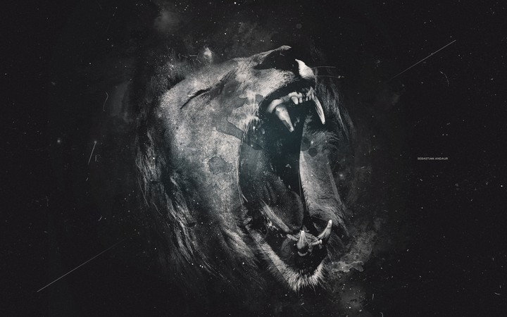 Animals Artwork Lion