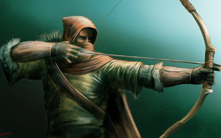 Art Archer Bow Arrow Game