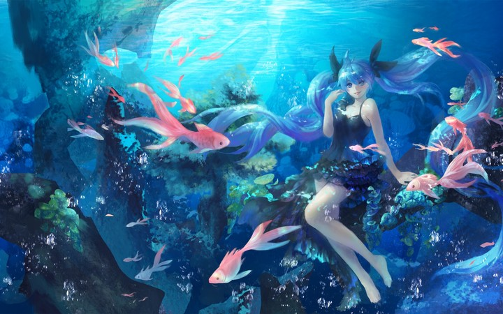 Shinkai Shoujo Underwater