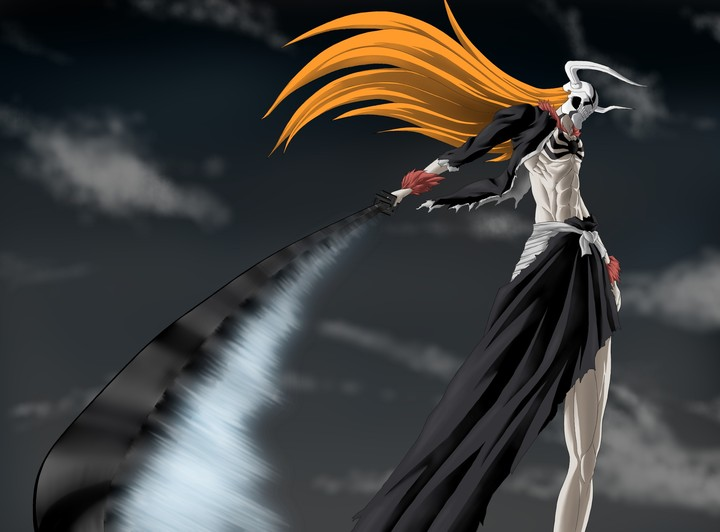 Bleach, Ichigo, Sword, Hollow, Wave, Weapons