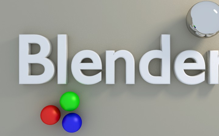 Blender Letters Balloons Colorful Shape Surface