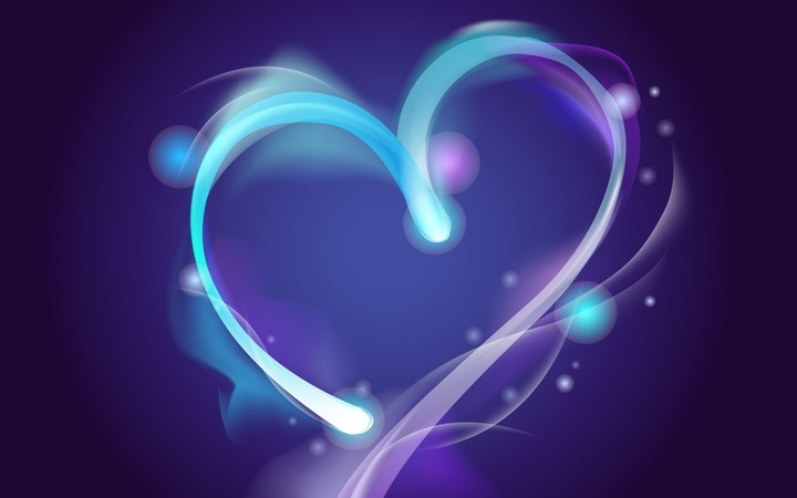 Blue Aura Of Love