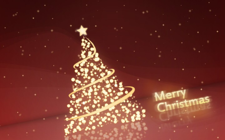 christmas tree new year greetings graphics lettering