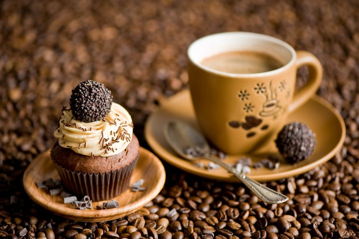 Coffee Coffee Beans Cupcake Candy For Kids Men Woman