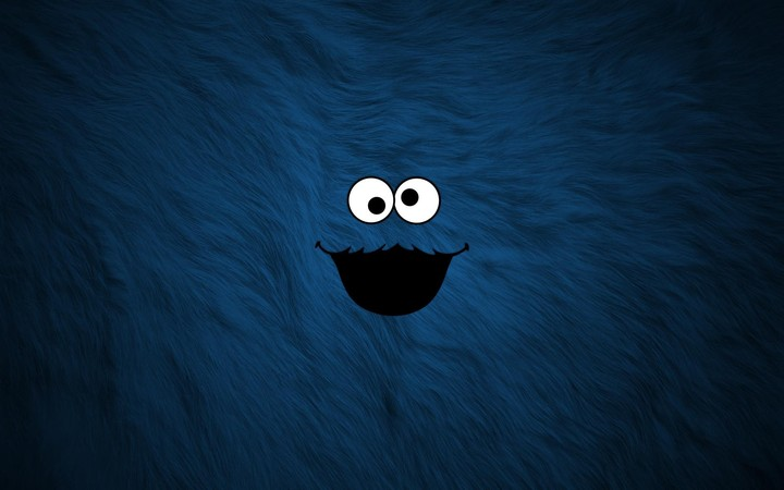 Cookie Monster Funny Background