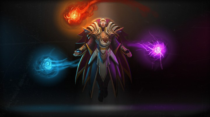 cool invoker dota game background wallpaper by chococruise