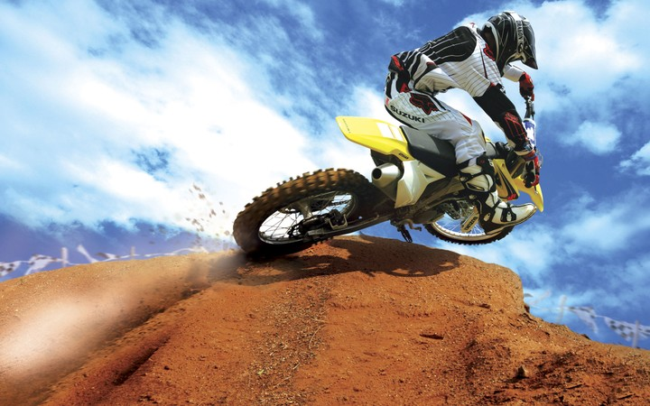 Crazy Motocross Bike