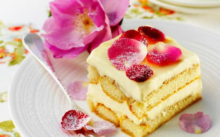 Картинки торты и пироженные