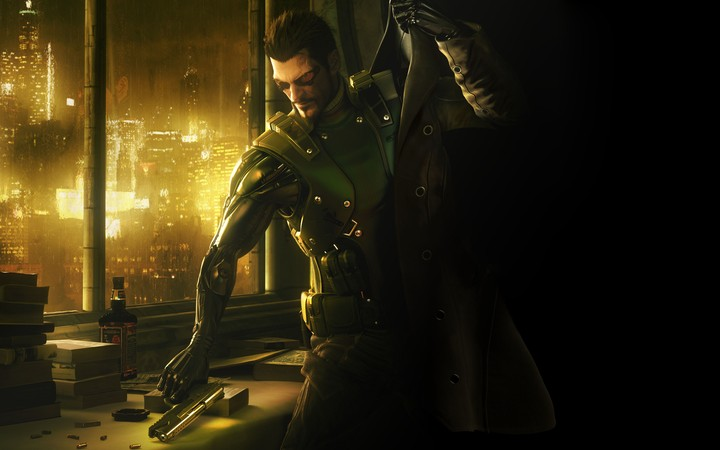 Deus Ex Human Revolution Game Background