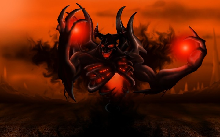 Dota2 Shadow Fiend Nevermore