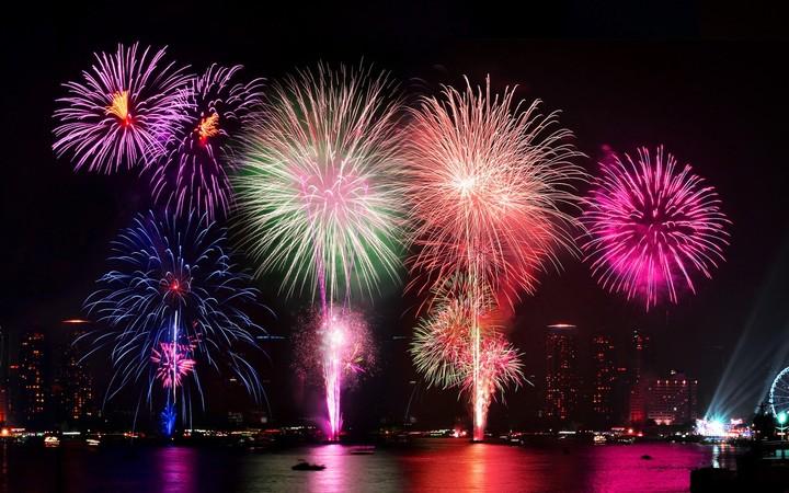 720 x 450 jpeg 109kB, Fireworks Hd Wallpaper Colorful Night Happy New ...