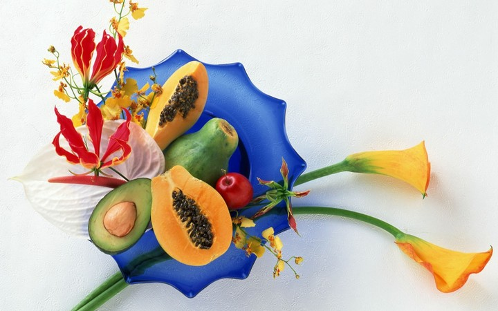 fruit-cutting-plate-food