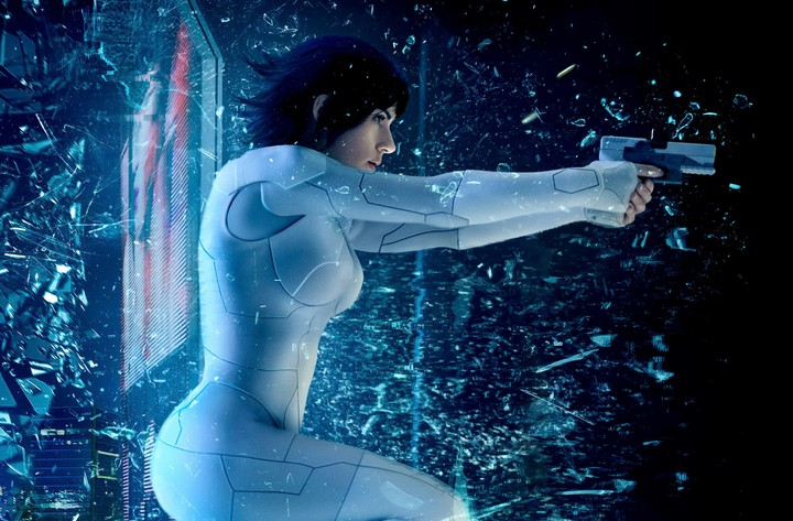 Ghost In The Shell 2017 Movie 4k