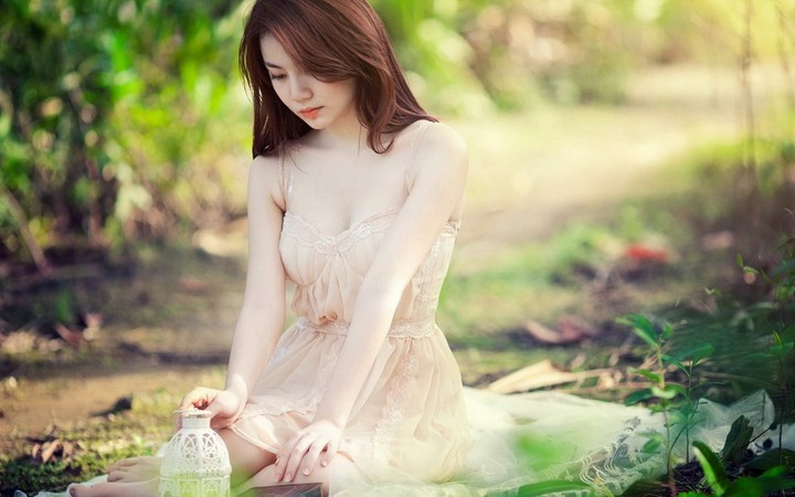 Girl Asian Forest Mood wallpaper by chococruise ...