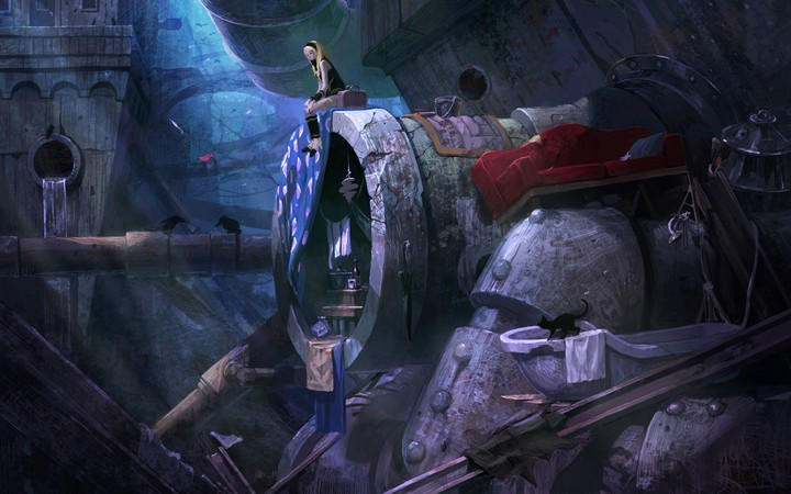 Gravity Rush 2 Desktop Wallpaper By Thormark