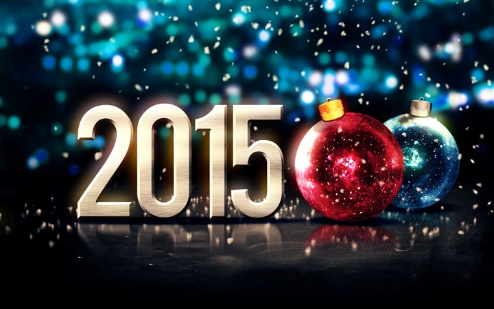 happy new year 2015 wallpaper merry christmas ball