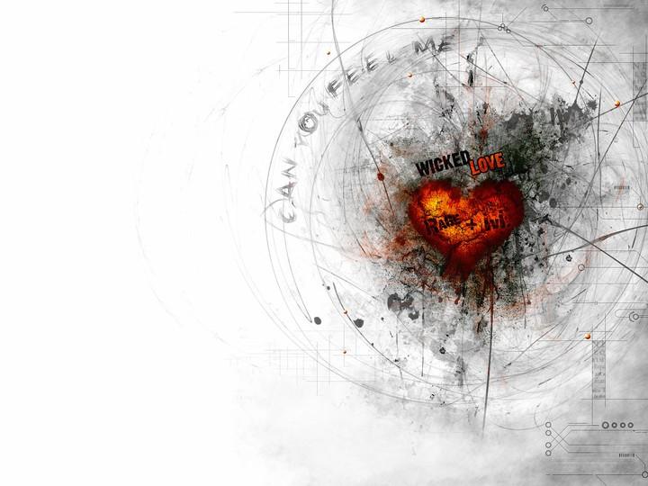 Heart Line Love Art Hd Wallpaper By Lisaturner Revelwallpapers Net