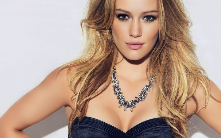 Hilary Duff Blonde Girl Hd