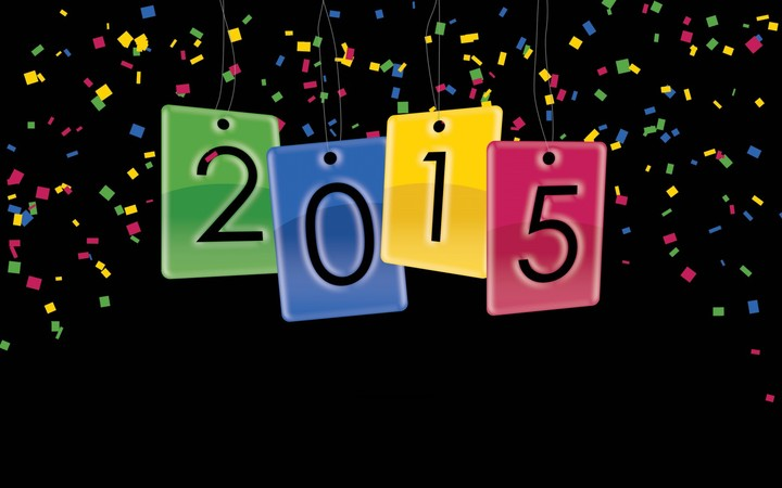 Holiday New Year 2015 Colorful Hd