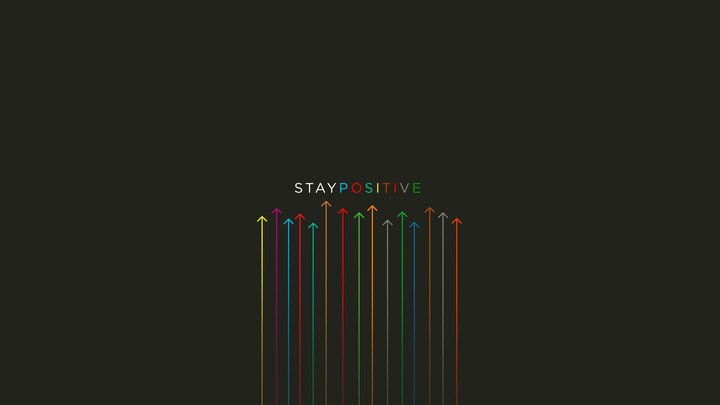 Inspirational Minimalistic Multicolor Posters