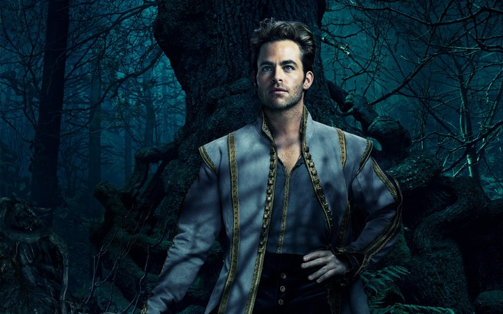 Into The Woods Chris Pine Cinderella Prince