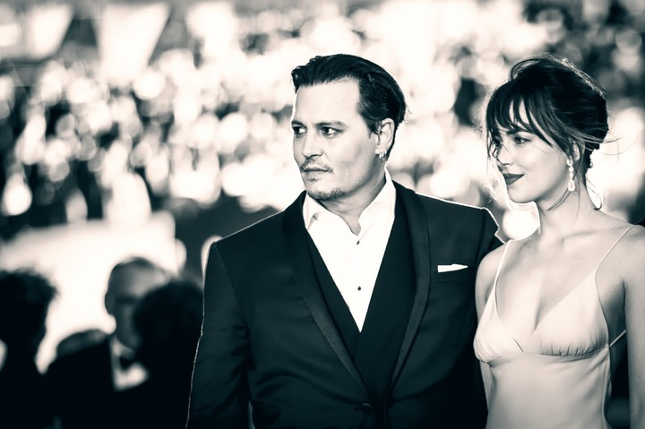 Johnny Depp and Dakota Johnson