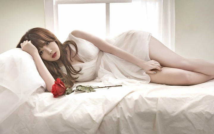 Image result for korea girl with bed