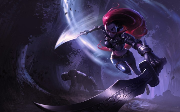 Katarina In League Of Legends Hd