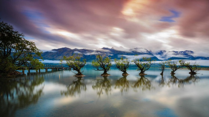 Lake Wakatipu near Queenstown, New Zealand