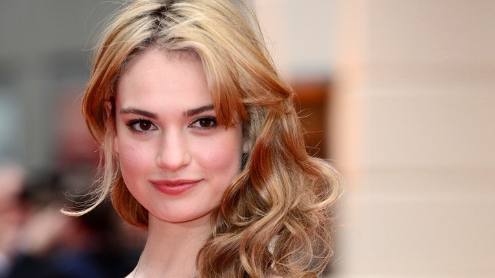 Lily James background