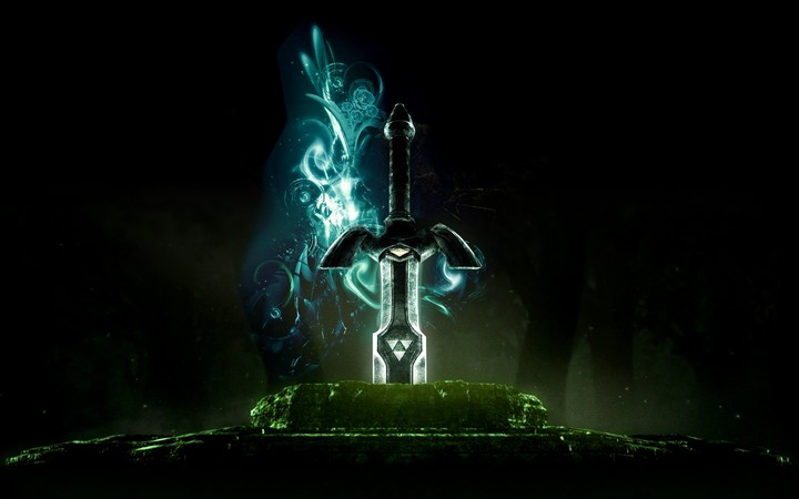 Link The Legend Of Zelda Master Sword Triforce Game