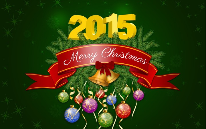 Merry Christmas Holiday New Year 2015