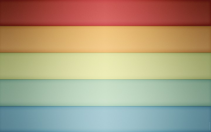 Minimalistic Multicolor Rainbows background