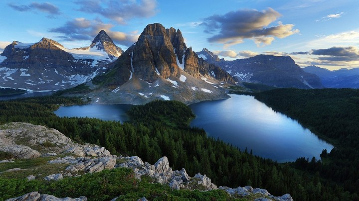 Mount Assiniboine In Summer