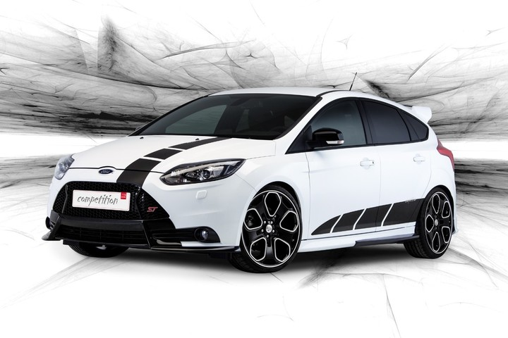 New Ford Focus ST 2013 HD Car Background
