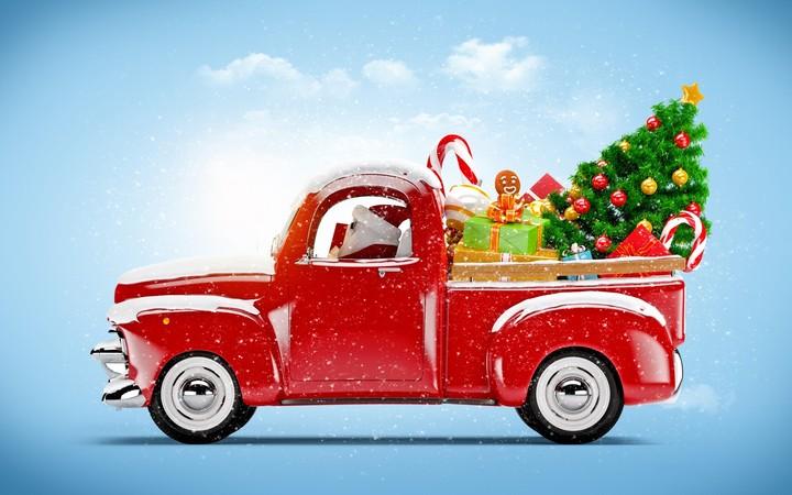 Car Wallpaper Desktop >> New Year Christmas Winter Red Car Toy wallpaper by kyouko | RevelWallpapers.net