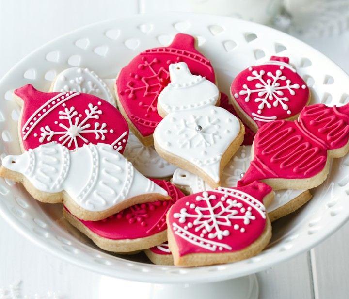 New Year Cookies Christmas image color pink beautiful