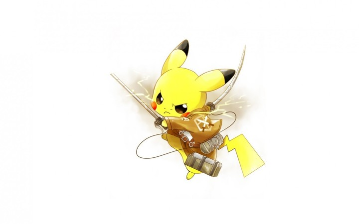 pokemon art weapons pikachu attack of the Beautifulans