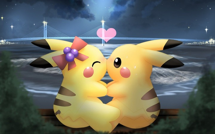 Pokemon Love Pikachu