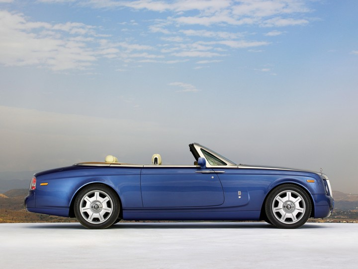 Rolls Royce Blue Cars