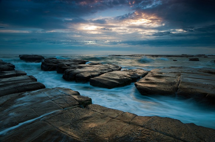 Seascape, Ocean, Rocks Hd