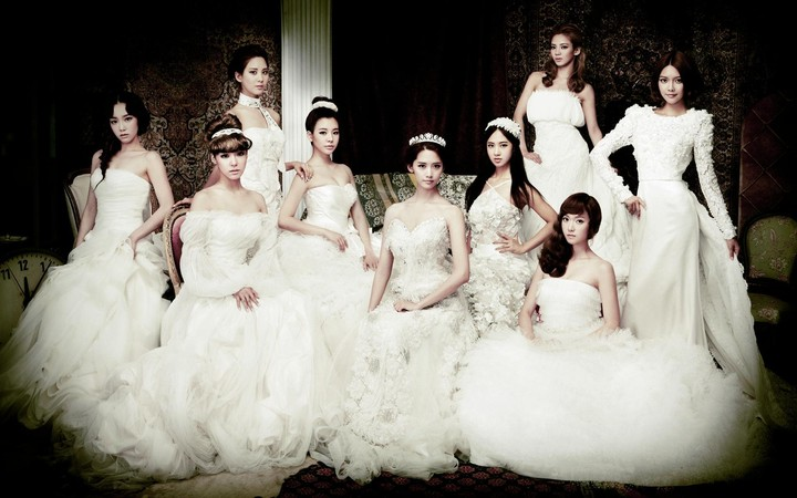 SNSD Music Pop Group Korea