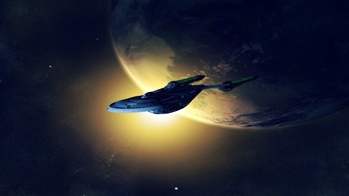 Spacecraft Space Art Hd