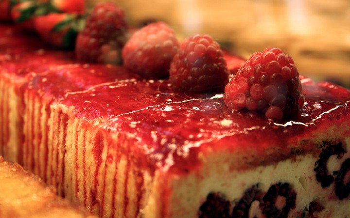 Sweet Food Strawberry Cake Dessert