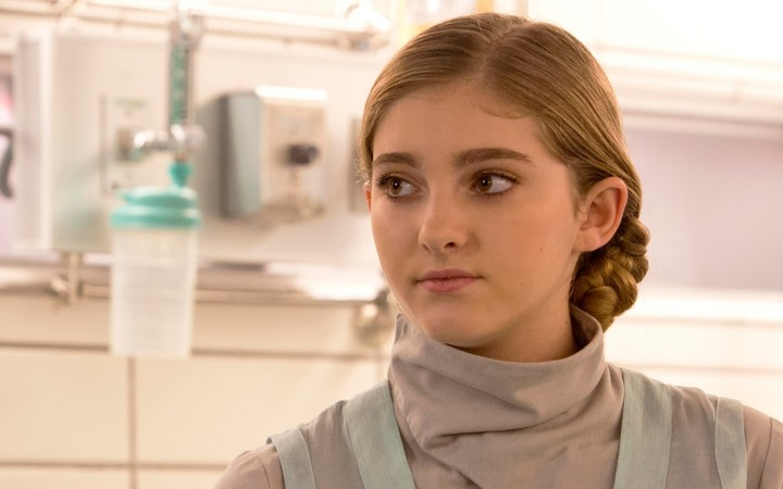 Willow Shields in The Hunger Games Catching Fire