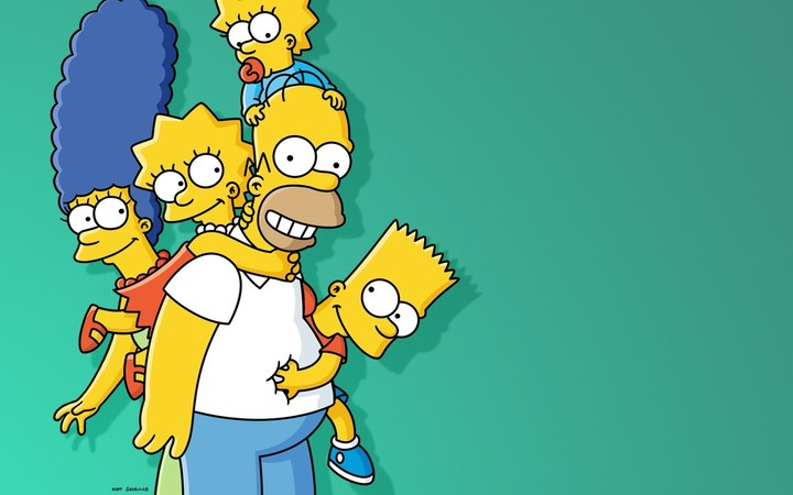 The Simpsons Family Animated Cartoon Hd